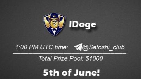 IDoge x Satoshi Club AMA Recap from 5th of June