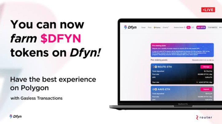 Know about $DFYN Network and How to Earn DFYN?