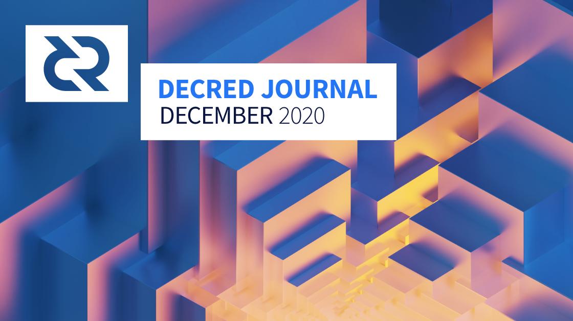 Decred Journal - December 2020