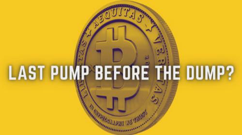 Last pump before the dump?