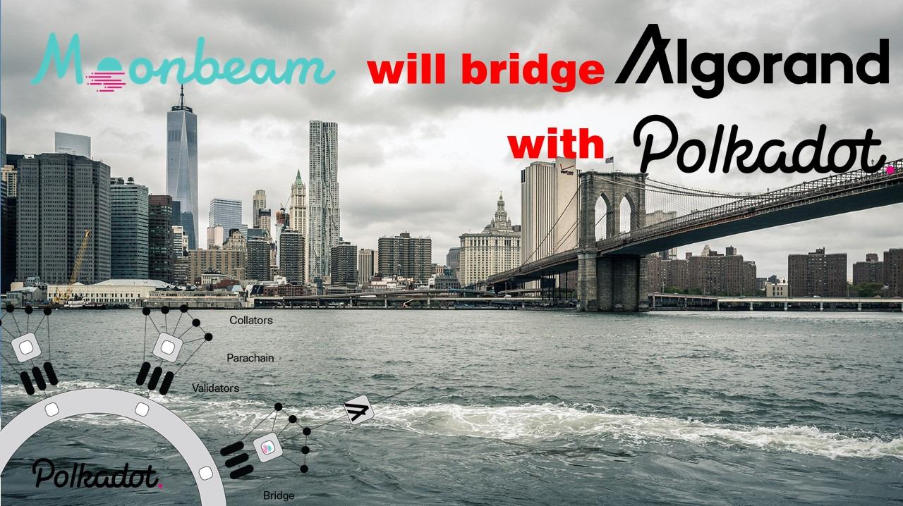 Moonbeam bridge Algorand with Polkadot