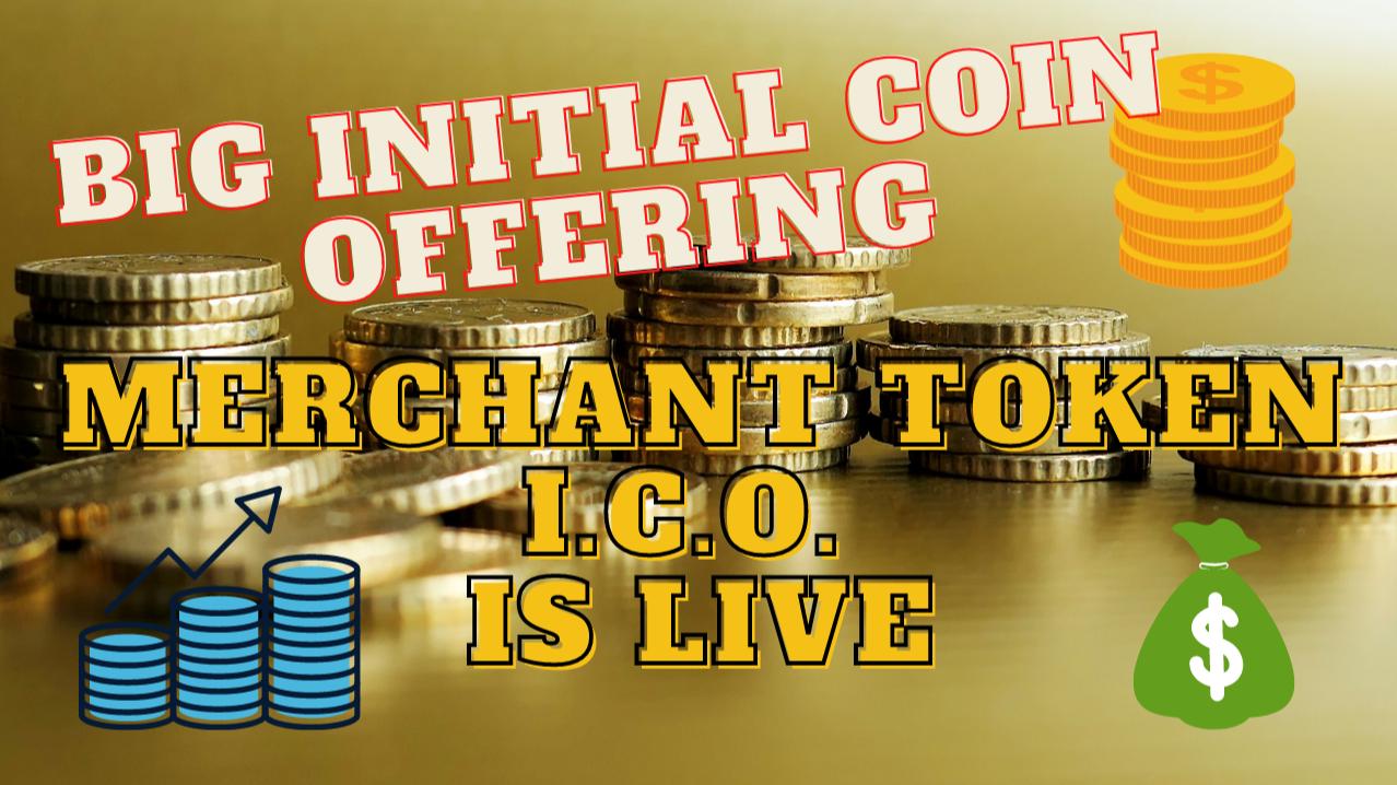 Merchant token ICO live