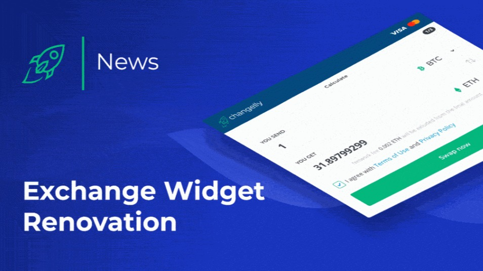 exchange cryptocurrency widget