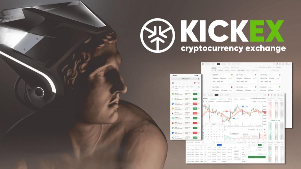 KickEx Exchange Ad