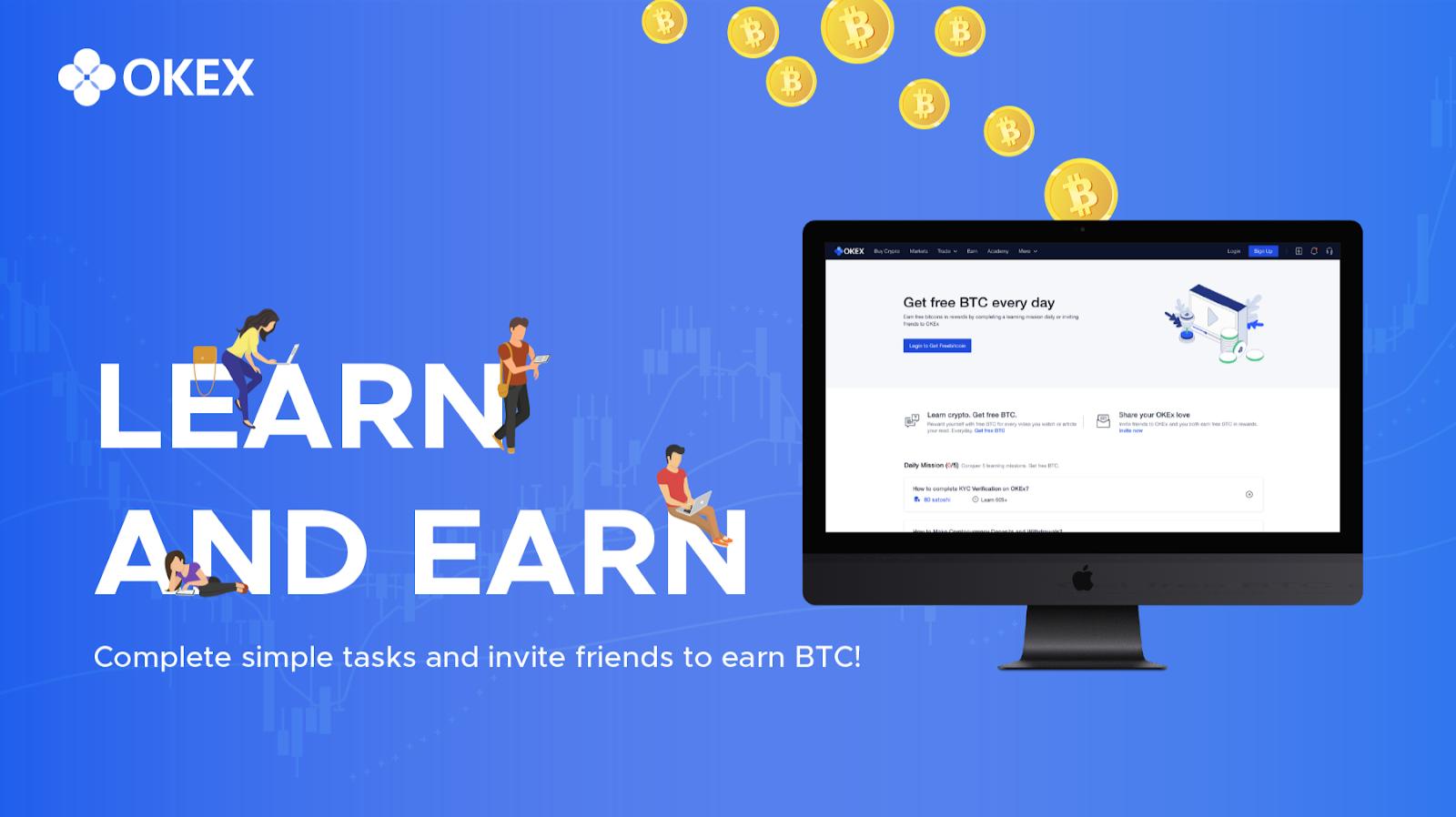 Learn and Earn BTC