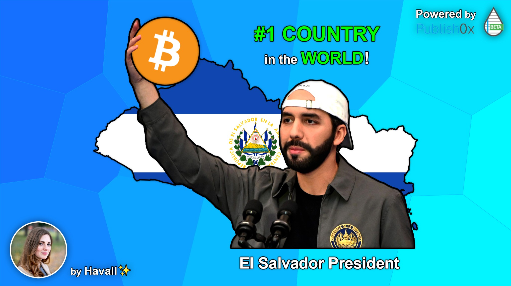 EL SALVADOR has decided: BITCOIN as STATE CURRENCY!🥇⚖