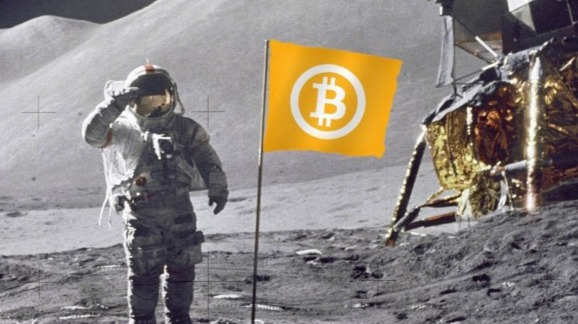 The BTC army. One huge step for mankind indeed.