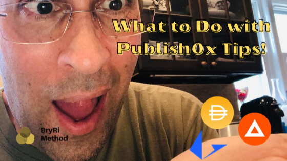 What To Do With Publish0x tips?