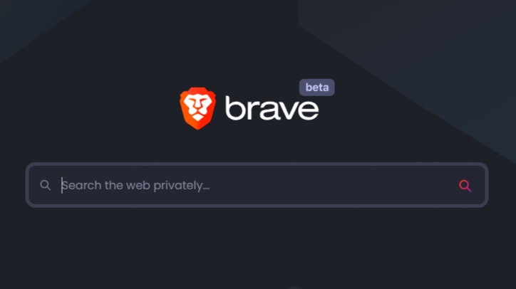 Brave browser with brave search engine