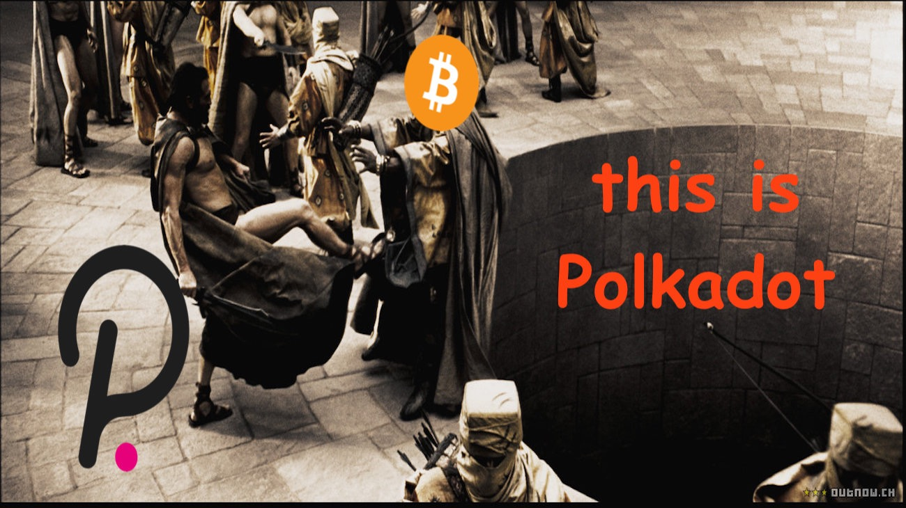 The issue of transaction costs - and how Polkadot might be the future Bitcoin.