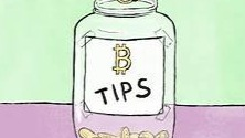 Crypto tipping