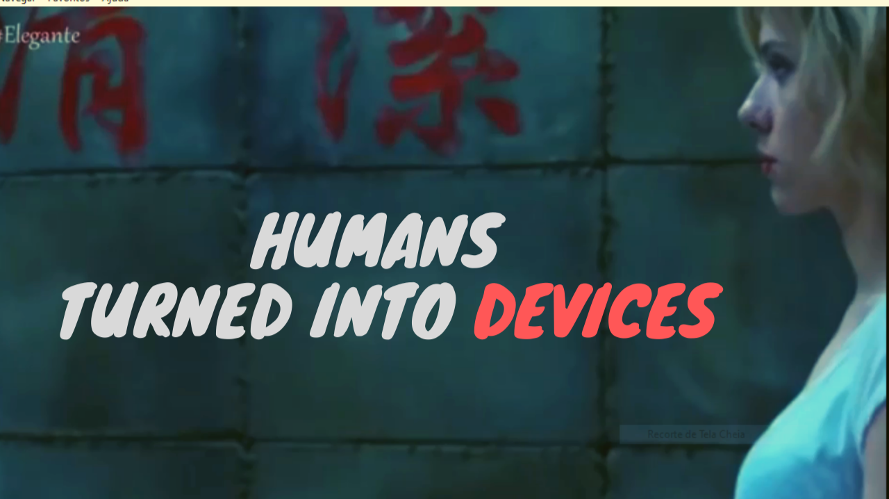 Humans turned into device