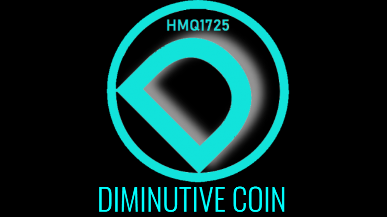 Diminutive coin logo