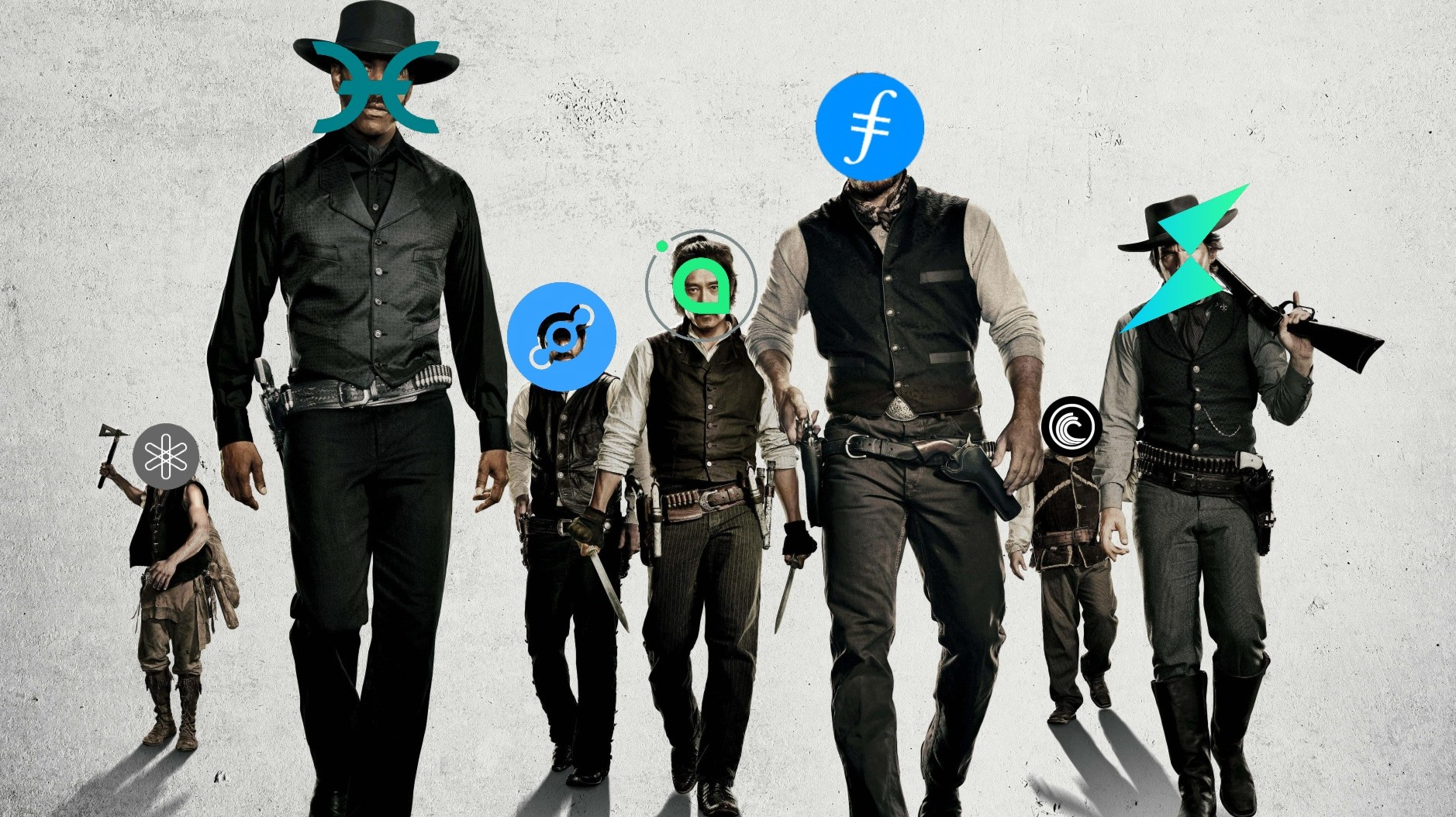 The Magnificent Seven: HOT, FIL, BTT, SC, HNT, RUNE, DENT – Biggest Gainers from March 26th to April 2nd