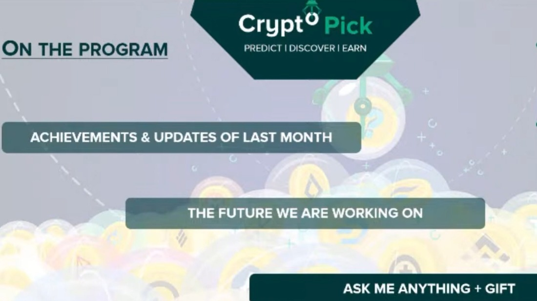 CryptoPick AMA May 2021 - NFT utility, new collection and more