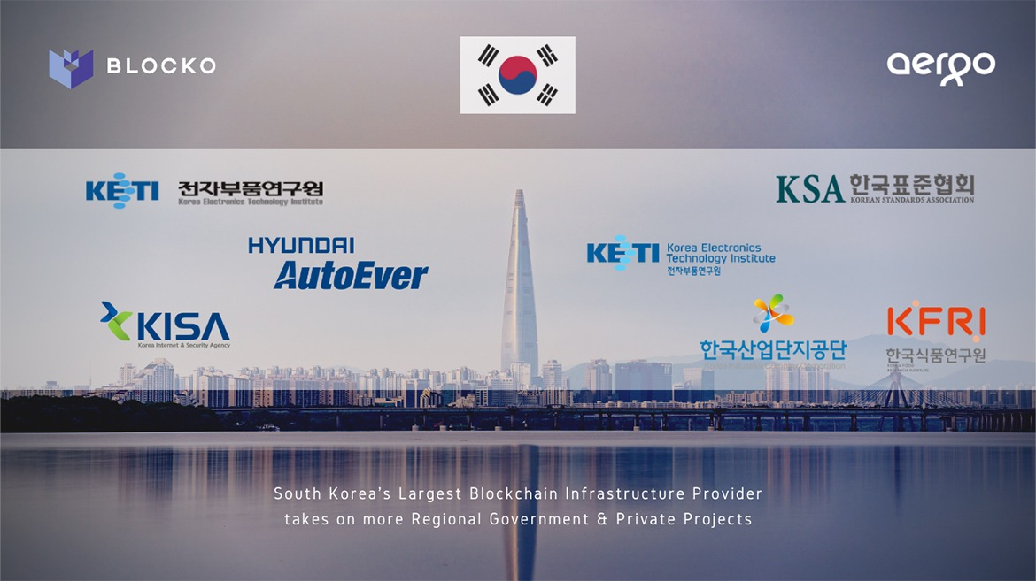 South Korea's Largest Blockchain Infrastructure Provider takes on more Regional Government Projects