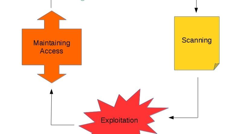 General steps of penetration testing.