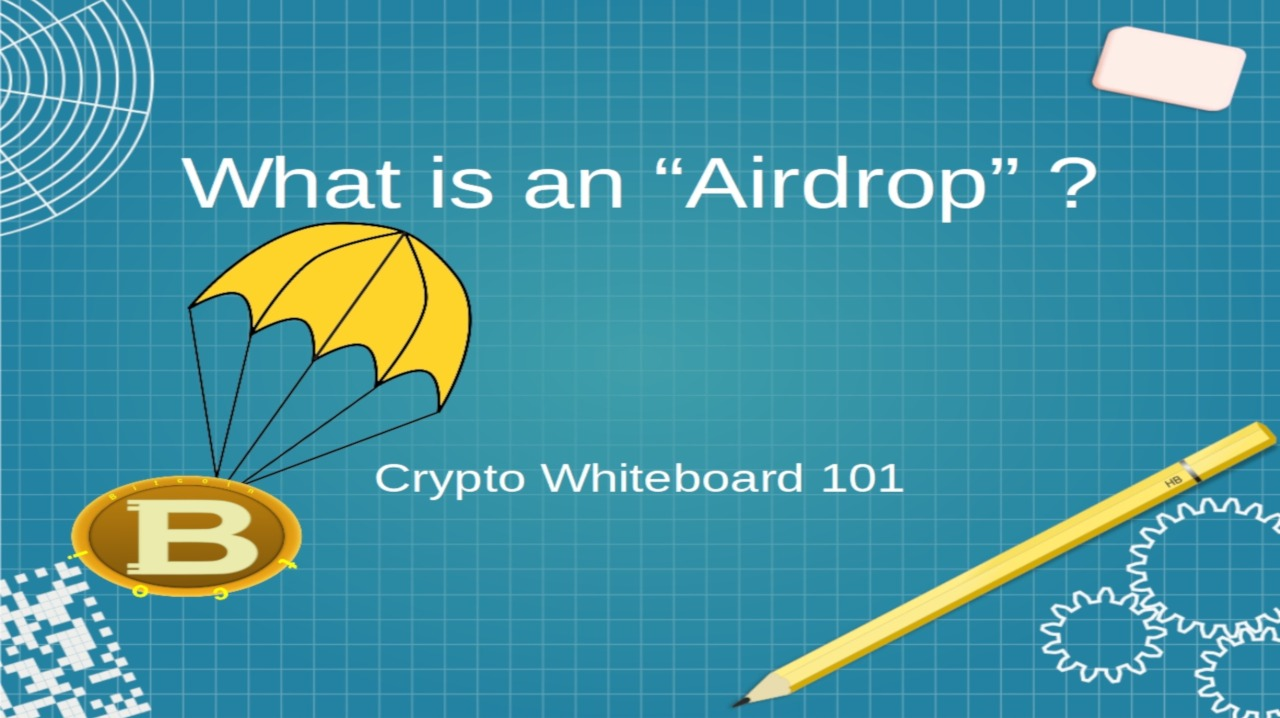 cryptocurrency airdrop image