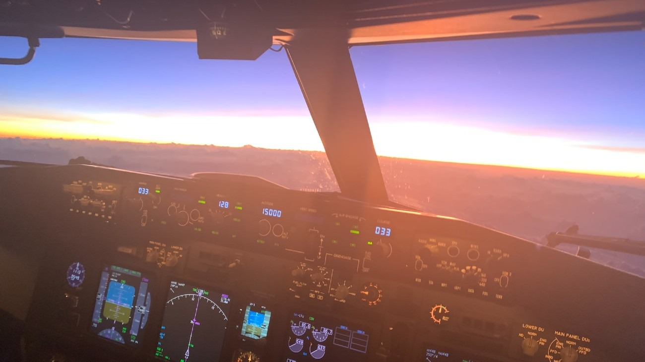 Plane cockpit AutoPilot