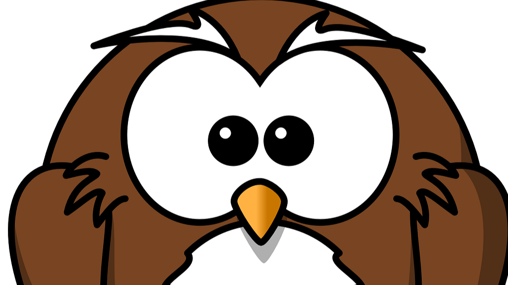 Ornery Owl free use image from Open Clipart Vectors on Pixabay