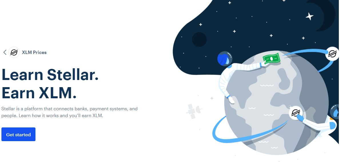 LIMITED: Earn $50 Stellar before they run out!  [More assets are available as well]