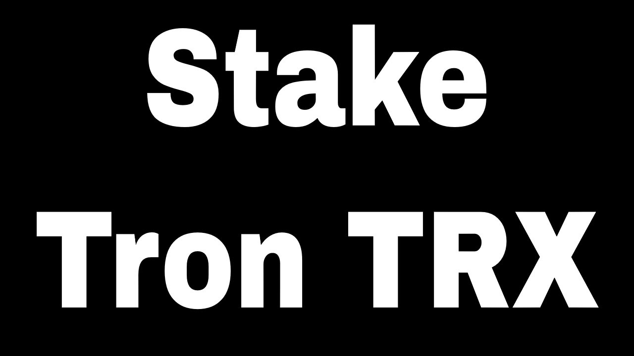How to stake TRON and earn daily TRX