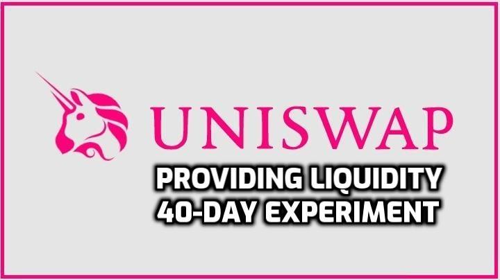 Providing Liquidity on Uniswap | 40+ Day Experiment Results