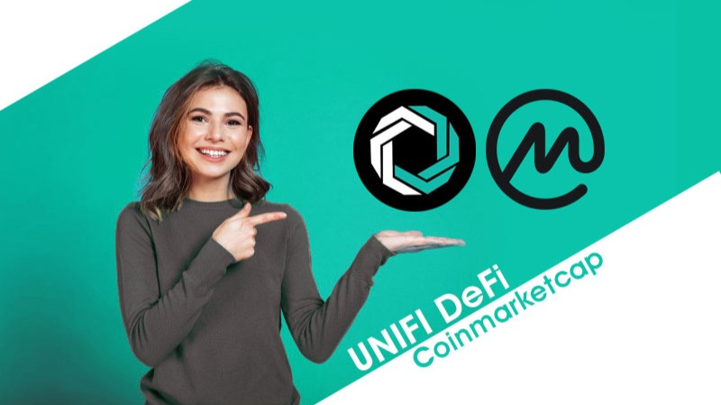 UNIFI DeFi now listed on CoinMarketCap!