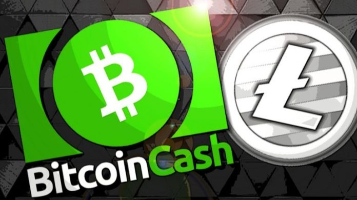 Win Litecoin and Bitcoin Cash with App's