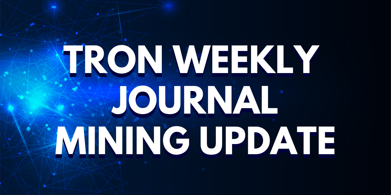 Mining Rewards For Week 3 And Updates About TWJ