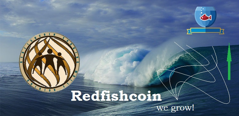 Redfishcoin Keeps on Going UP!