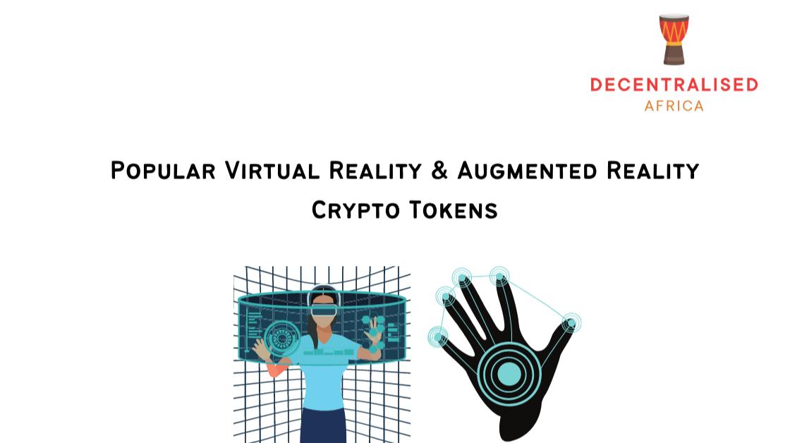 AR/VR Tokens