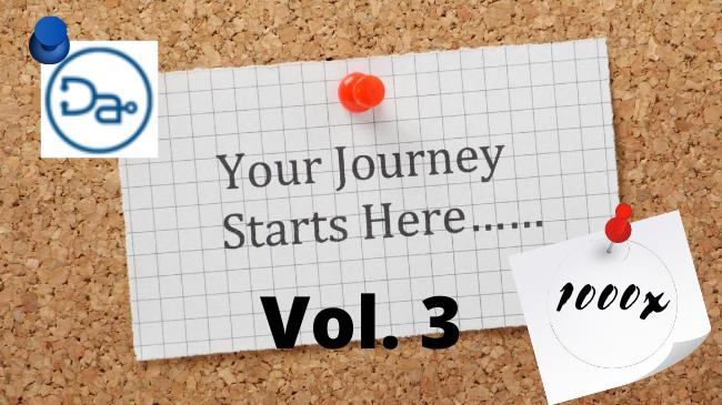 Journey to 1000x - Vol. 3