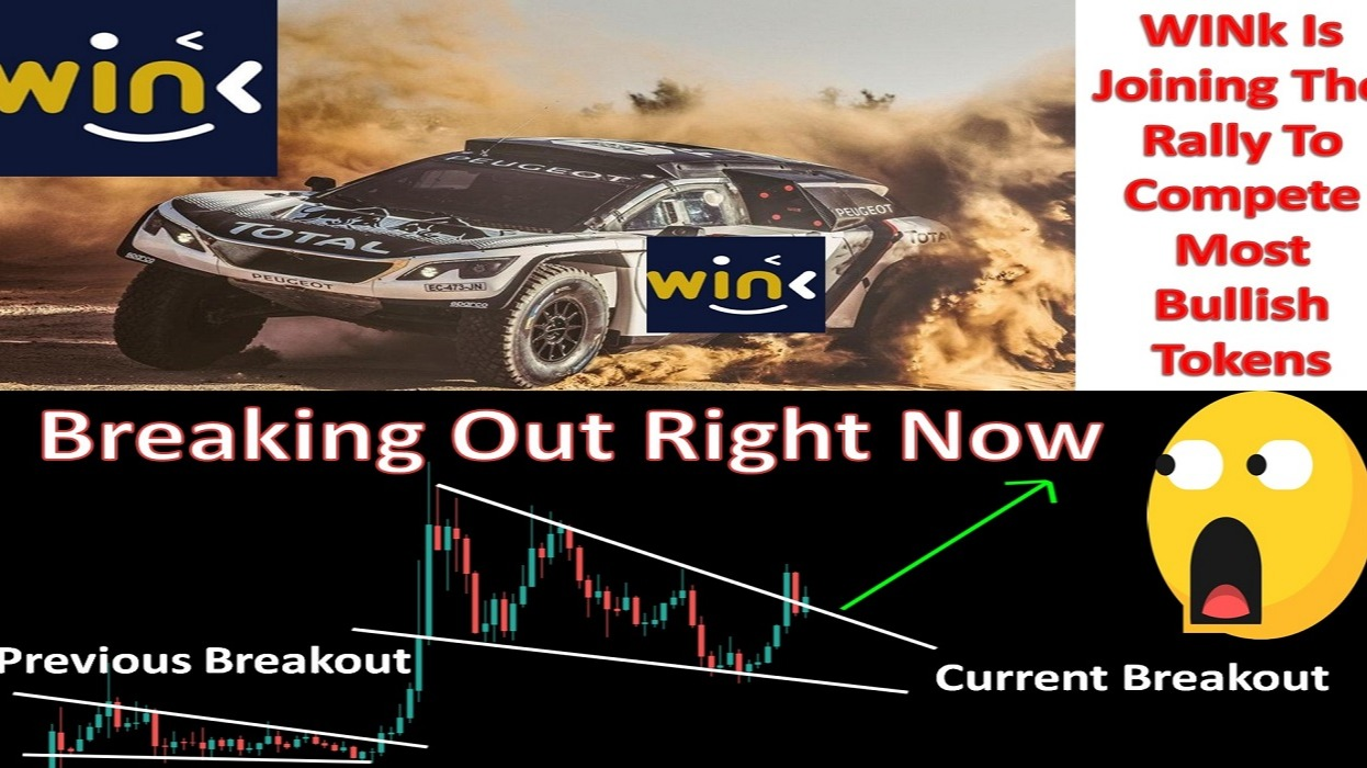 WINk Is Joining The Rally To Compete Most Bullish Tokens | Breaking Out Right Now
