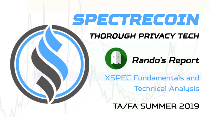 Spectrecoin - Thorough Privacy Tech - Rando's Report - TA/FA Summer '19