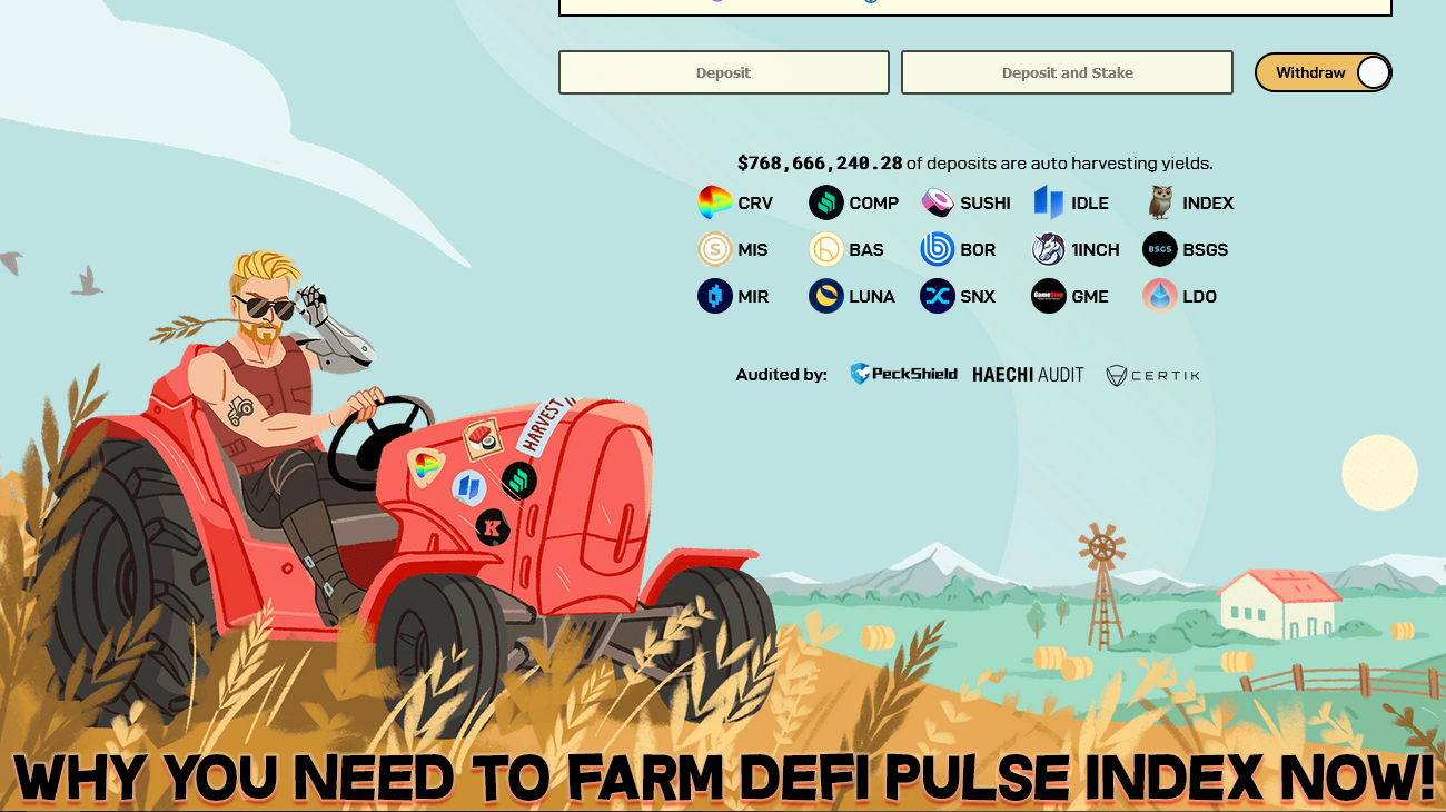 Why you NEED to start farming DPI on Harvest Finance. #CropSpotter