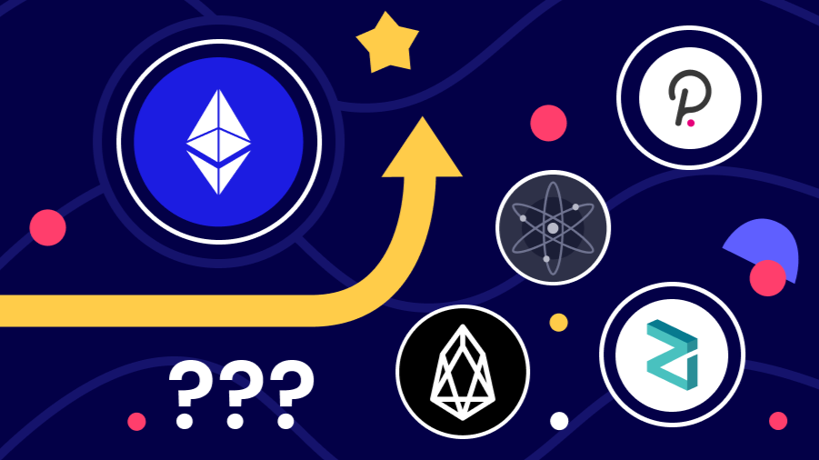 The Current State of Ethereum's Competitors: Zilliqa, Cosmos, Polkadot, EOS