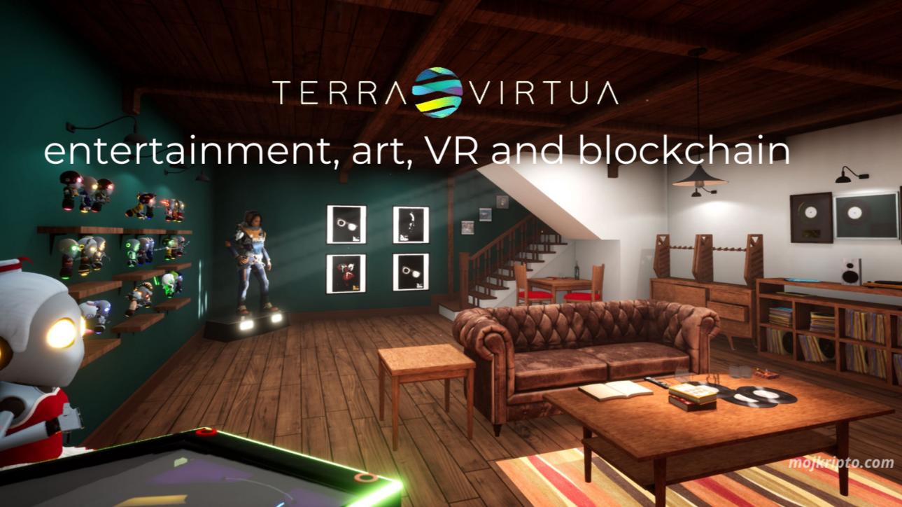 Terra Virtua – entertainment, art, VR and blockchain