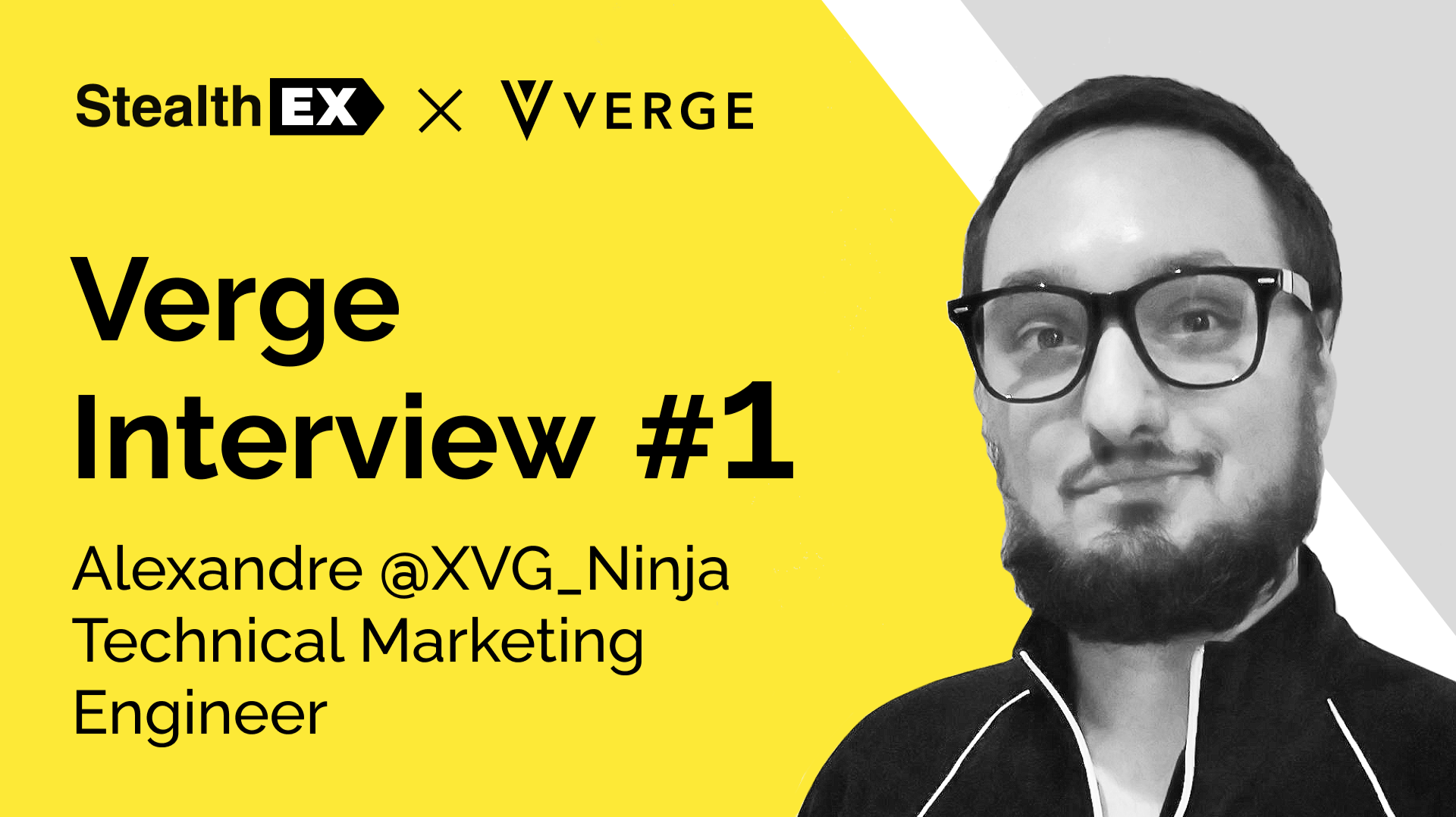 StealthEX Interview With Alexandre @XVG_Ninja, The Verge Technical Marketing Engineer