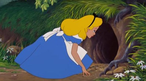 """Its no good going back to yesterday, because I was a different person then."" Alice"