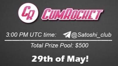 CumRocket x Satoshi Club AMA Recap from 29th of May