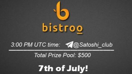 Bistroo x Satoshi Club AMA Recap from 7th of July