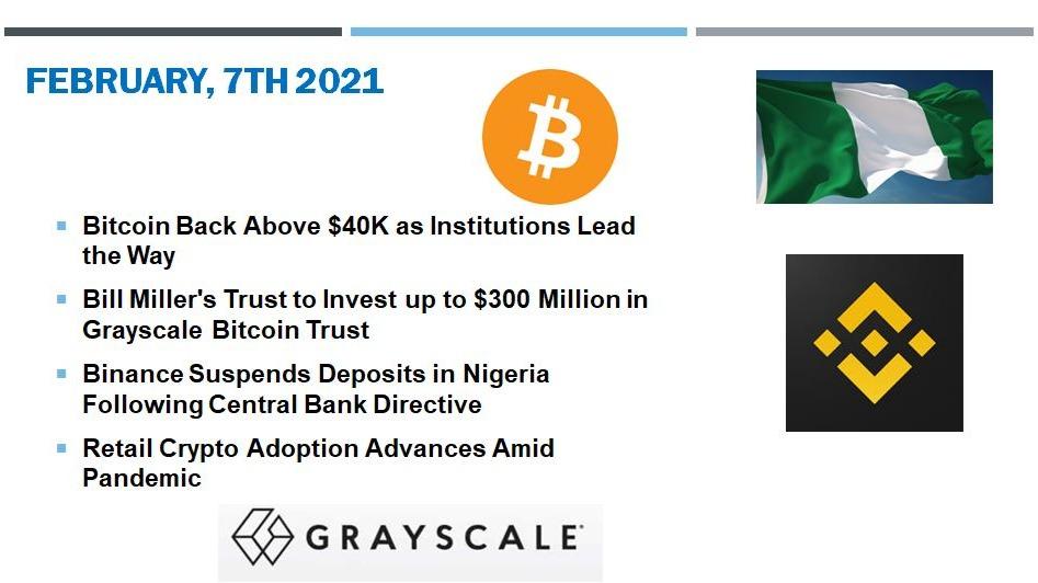 🗞 Daily Crypto News, February, 7th💰
