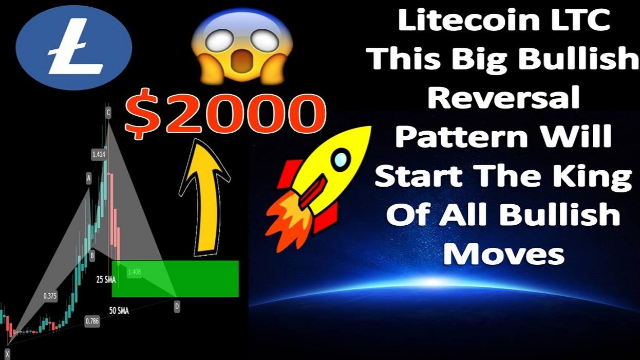 Litecoin LTC | This Big Bullish Reversal Pattern Will Start The King Of All Bullish Moves