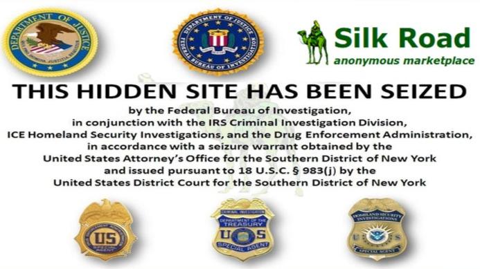 Silk Road seized