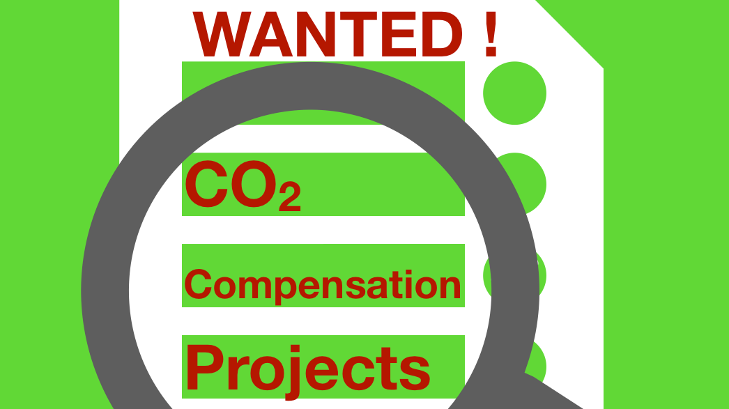 Wanted! CO2 Compensation Projects