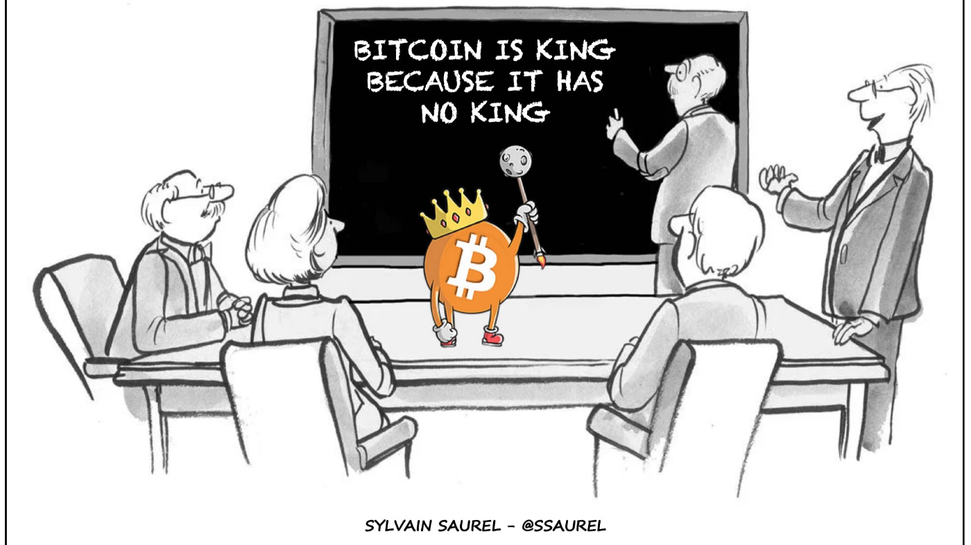 Everyone Wants To Be the King of Money, but Bitcoin Is King Because It Has No King