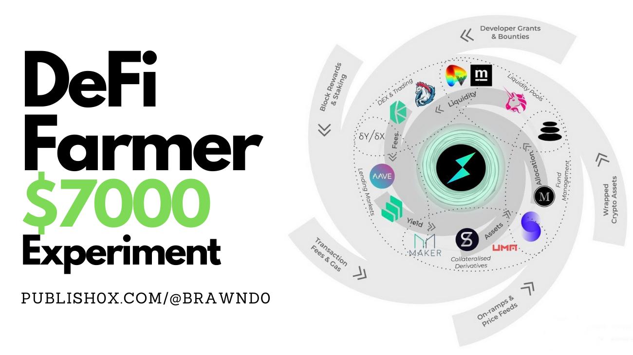 I've put $7000 into 7 DeFi Platforms 7 Months Ago [My Earnings: Week #28]