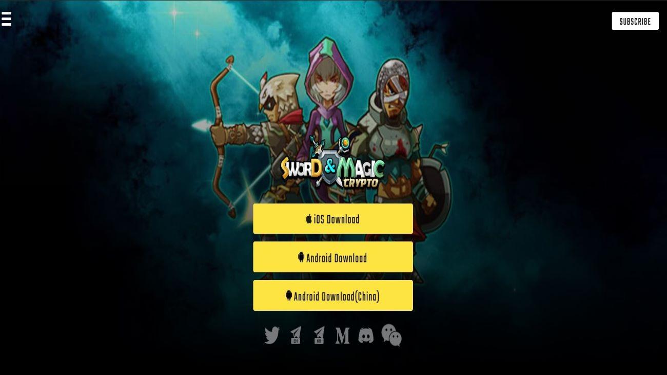 Crypto Sword & Magic   RPG based on Blockchain