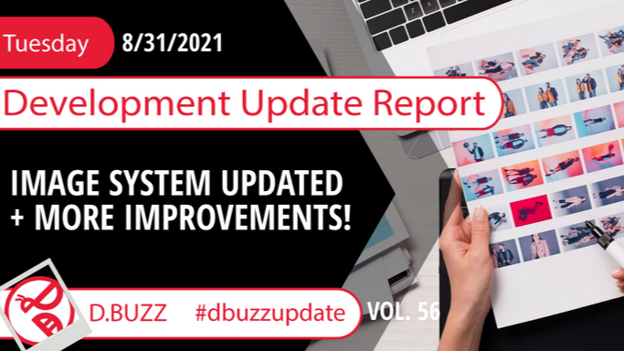 Weekly Development Updates for D.Buzz - Today : Image Update